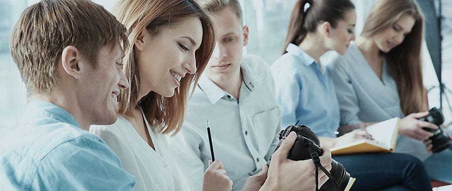Mitarbeiterschulung fotografie in unternehmen